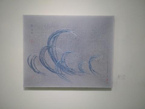 《气海图》 80×100cm 布面油画 2015