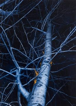 陈家业《夜No.2》180cmx130cm 布面油画 2016