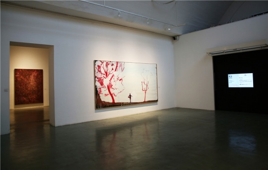 马轲 《远方》210x380cm 布面油画 2014