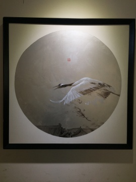 冯一尘 《海屋添筹》 120×120cm 布面油画 2012