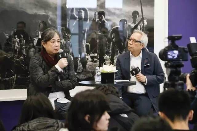 杨福东新作《愚公移山》的首映现场