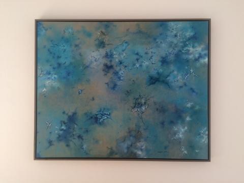 蔡锦《风景93》 150×120cm 布面油画 2014