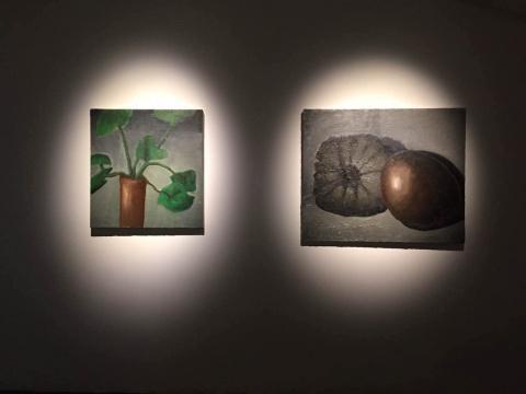 两幅《无题》创作于2013年
