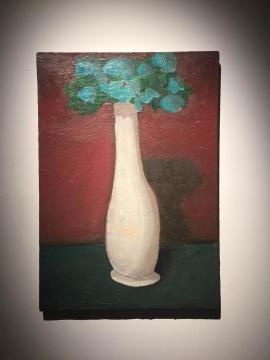 《无题》 79×55cm bu'mia布面油画 2003  私人收藏