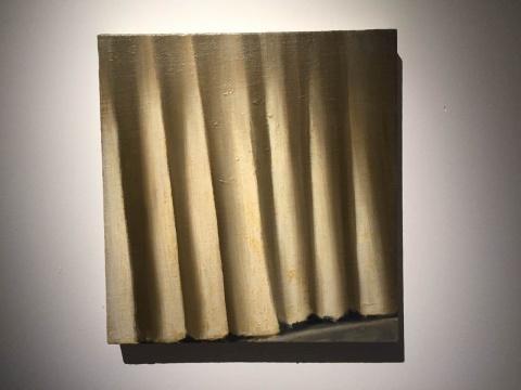 《无题》 55.5×55.5cm 布面油画 2009  安特卫普Zeno X画廊提供