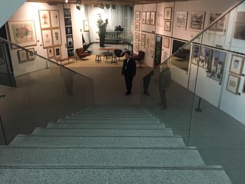 """展览的起点,阿尔诺德·博德的""""房间"""""""