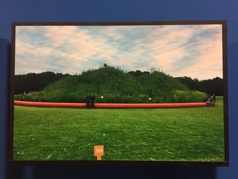 2012年第十三届文献展,宋冬作品《白做园》