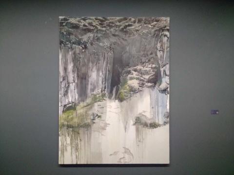 吕松 《隧道》 200×150cm 布面油画 2015