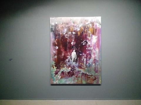 吕松 《云梯》 200×150cm 布面丙烯 2016