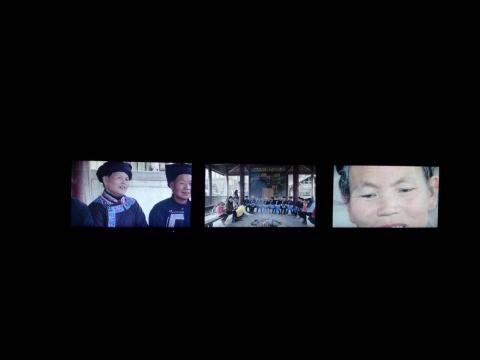 影像中记录的侗族妇女的日常