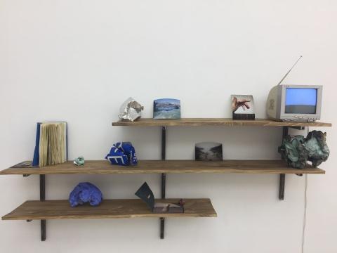 姜波 《德州巴黎-书架》2016
