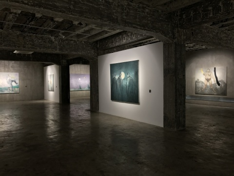 无中心影像实验与梦魇绘画 黄立言个展在陌上画廊开幕