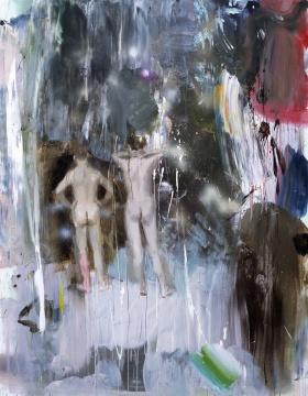 《沉醉》 180×140cm 丙烯画布 2016