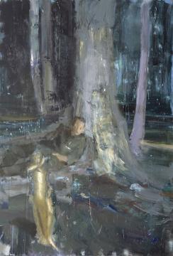 《小说世界》 260×180cm 丙烯画布 2016