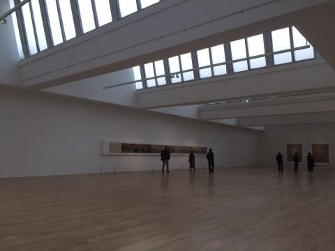 唐人当代艺术中心在798的第二空间约800平米