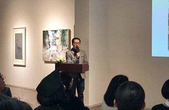 """2017悉尼中国当代艺术月展览统筹、""""向心力——中国青年艺术的四个维度""""策展人宋继瑞"""