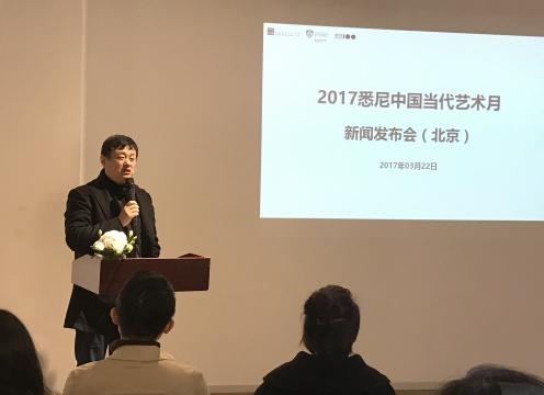 中央美术学院教授、悉尼中国当代艺术月总策划赵力
