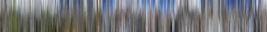 《祁连山03》(2011-2016)包含了他在该地区拍摄的数千张照片,每张都被压缩至只有几个像素大小,合在一起形成了一段时间的蒙太奇。