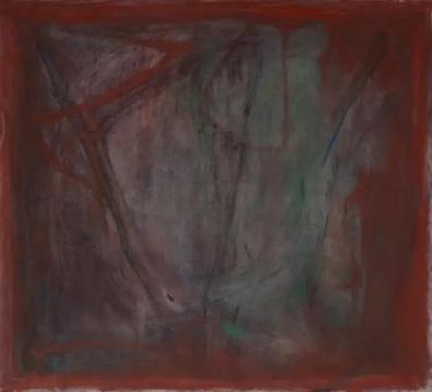 《movement-1》 110×120cm 布面油画 2016