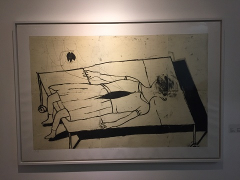《失去》 100×150cm 蚀刻版画 2014