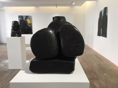王克平 《无题06-WK12》 45×11×28cm 杨木 2011
