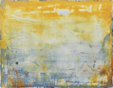 冯良鸿 《14-34》230×180cm 布面油画 2014