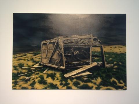 池田光弘 《场·肖像-罗马尼亚2号》 130×194cm 布面油画 2015