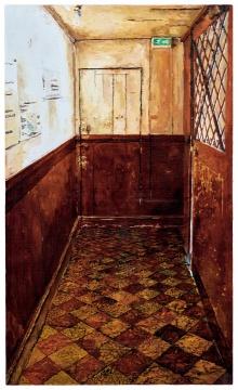 袁远 《出口》150×90cm 油彩画布 2011  流拍