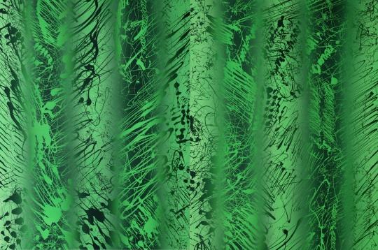 《草图2017-绿色6》 300x200cm布面丙烯2017