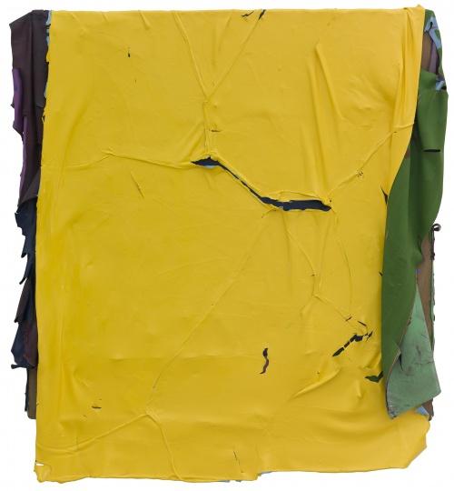 《无题123116》 110x117cm 木板丙烯 2016