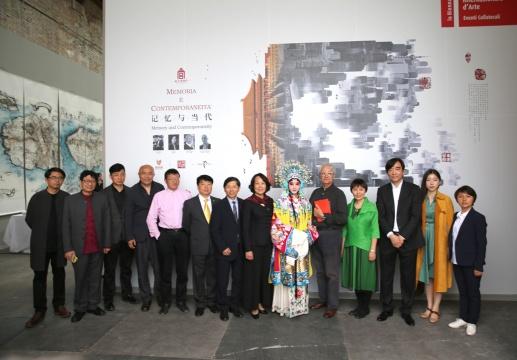 策展人、艺术家以及主办方等诸多嘉宾出席了本次开幕式