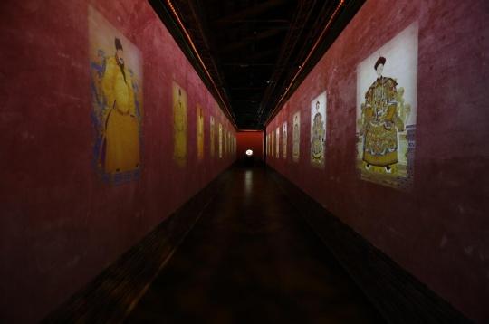 多媒体展呈现的《故宫记忆》