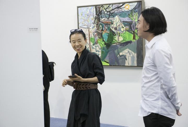 艺术家闫平