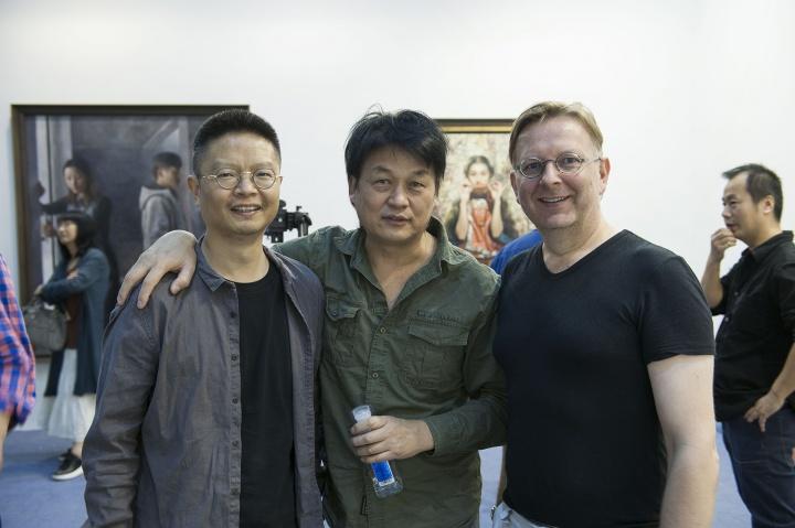 艺术家马树青