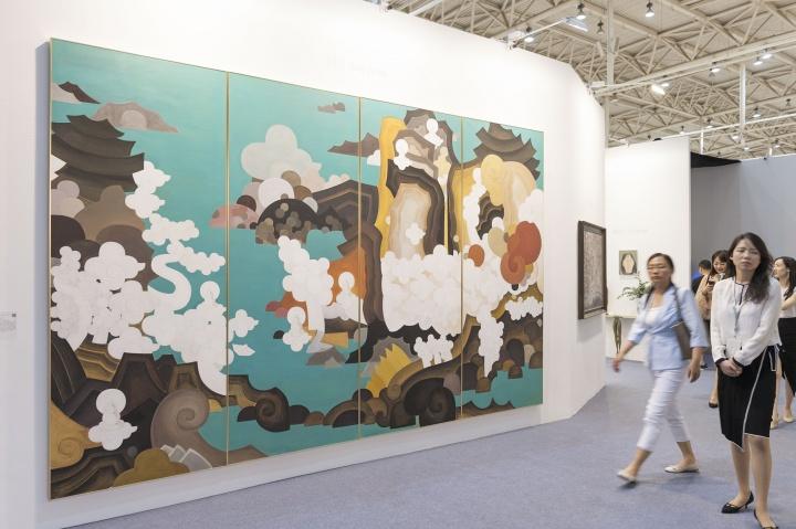 艺术北京艾米李画廊展位现场