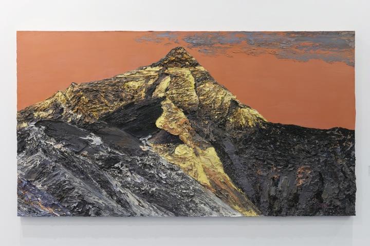 李新建《第三极地》120×210cm 布面油画 2016