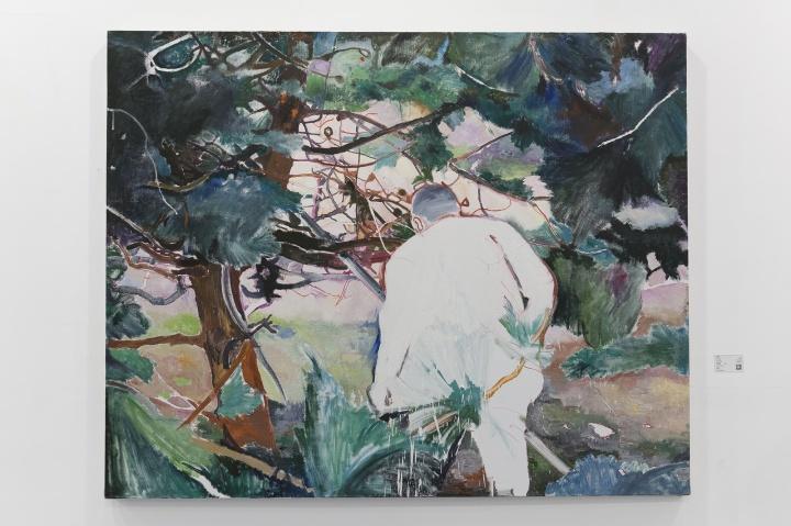 许宏翔《往里走》160×200cm 布面油画 2016