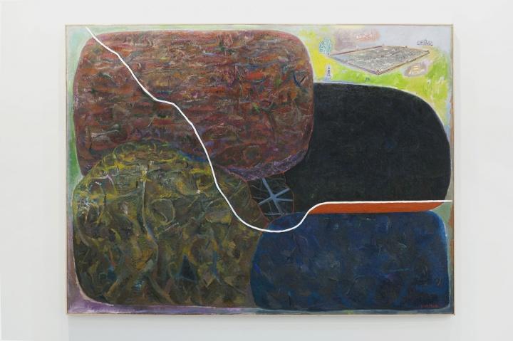 孔千《五亩地》 162×216cm 布面油画 2009