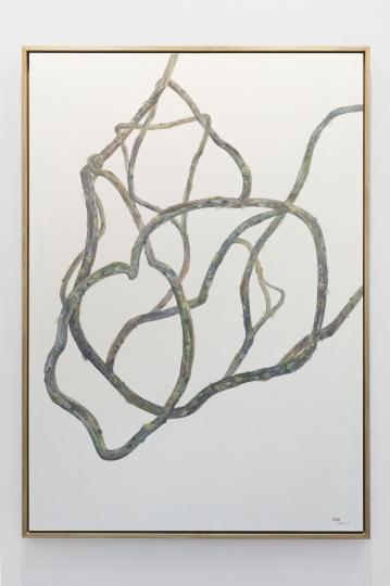 吴笛笛《不至于空无No.3》200×140cm布面油画 2017