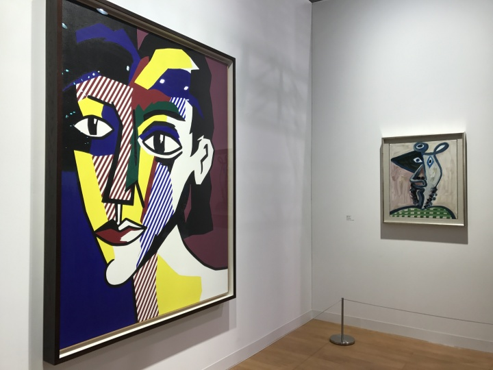 高古轩画廊带来的李奇登斯坦和毕加索作品