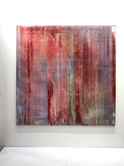 全场唯一一件里希特《Karmin》200×200cm 布面油画 1994