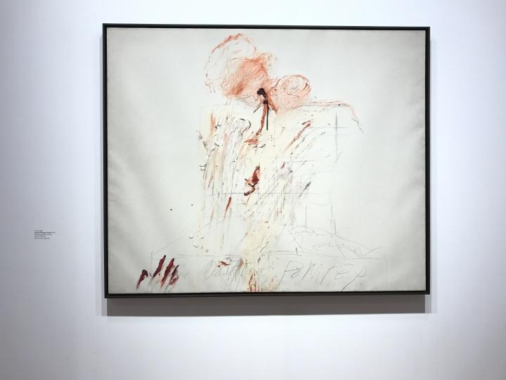 另一位让高古轩为之折服的艺术家赛·托姆布雷,不知道最终有没有让买家折服