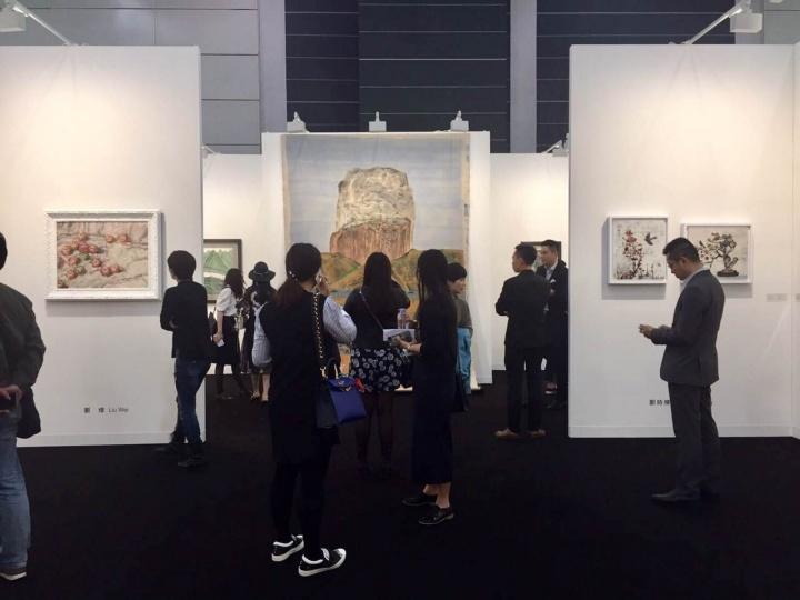 大未来林舍画廊在香港巴塞尔现场展位