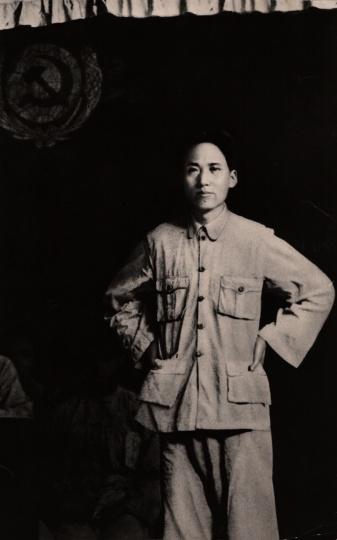 瑞金照相馆《毛泽东在江西革命根据地八县贫农团代表会议上讲话 》银盐纸基1933