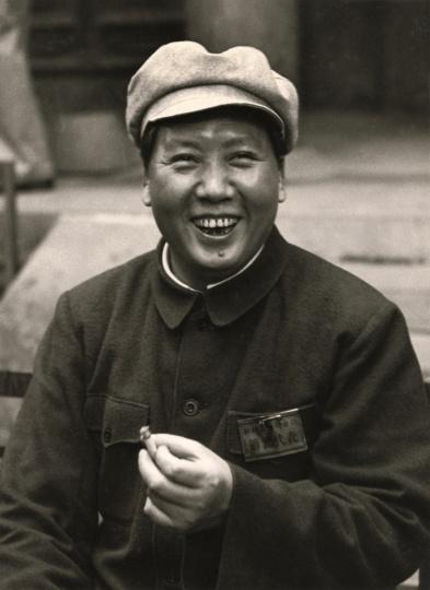 孟昭瑞《毛泽东在政协筹备会上》27×36.6cm银盐纸基 1949