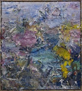 《2014抽象作品w20号》 145x130cm 布上油画 2014
