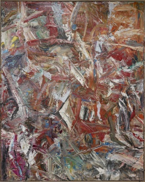 《2015抽象作品z32号》 300x240cm 布上油画 2015