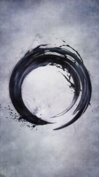 《圆相》数字作品 18分30秒(循环)2017