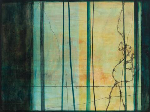 《误入藩篱17》 150×120cm 布面油画 2015