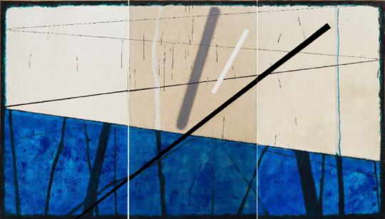 《放我走》 345×200cm 布面油画 2017